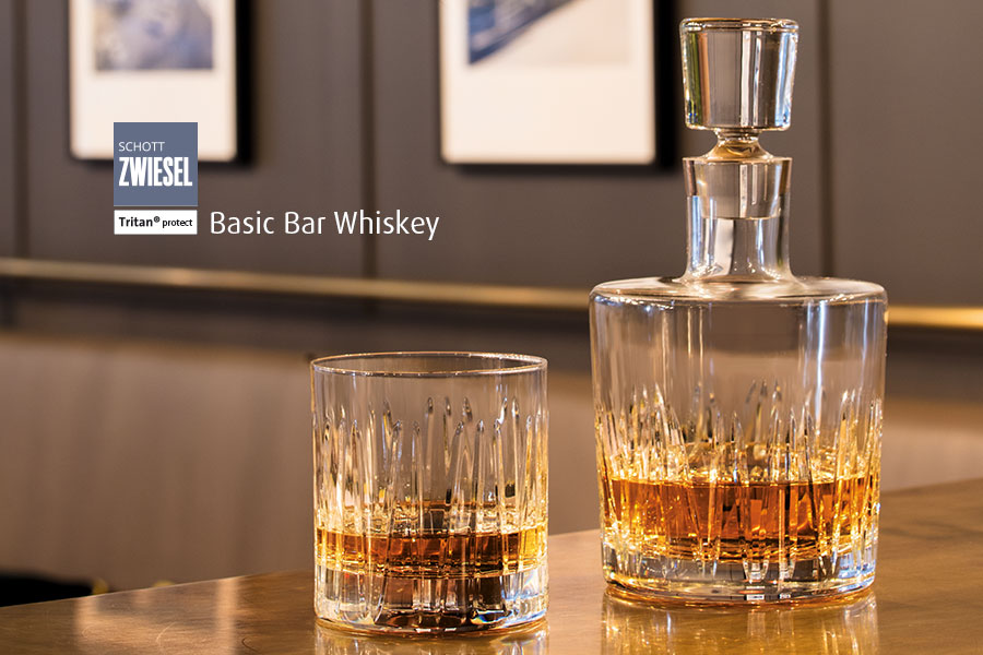 professional glassware basic bar collection available from houseware.ie co. meath whiskey glass and decanter