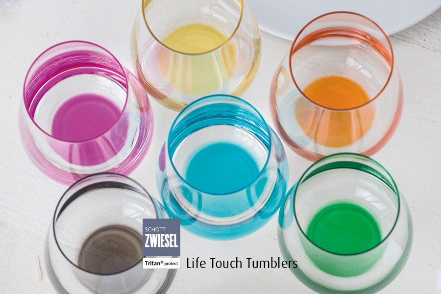 Professional bar glassware available from houseware.ie co. meath life touch tumblers