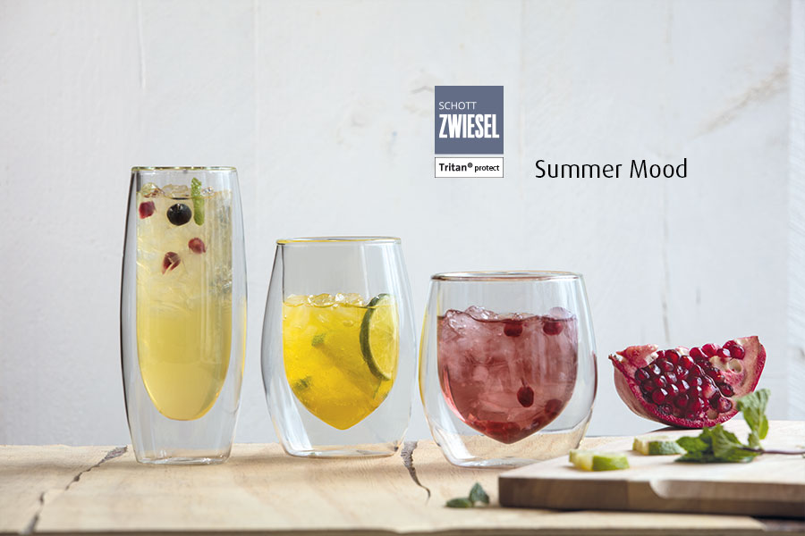 Professional bar glassware available from houseware.ie co. meath summer colours