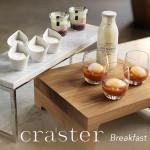 craster buffet displays at houseware.ie breakfast-buffet-flow-display-wood-marble