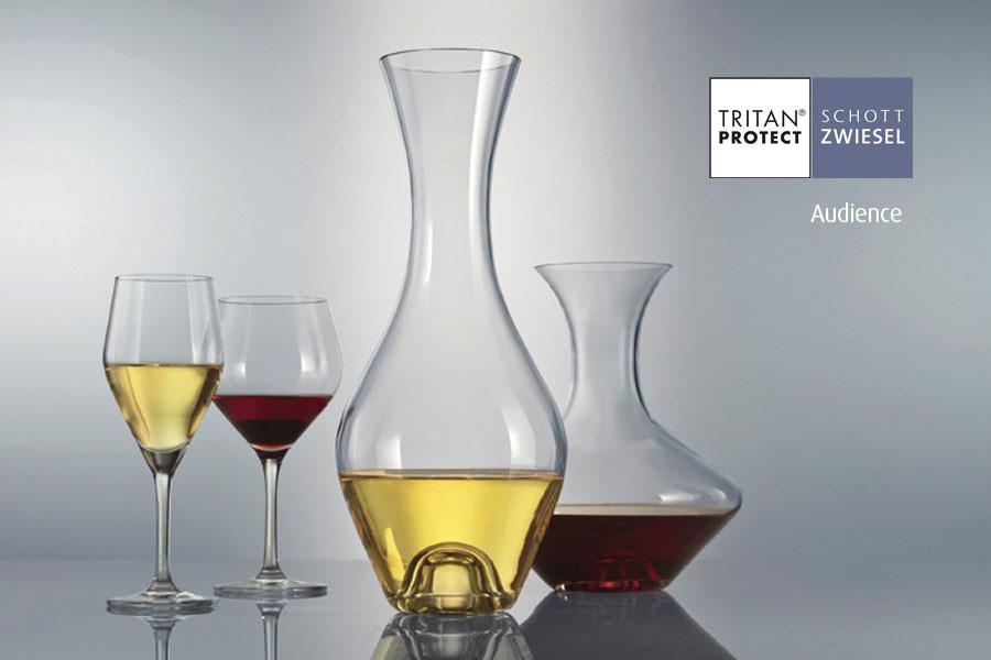 Audience wine decanters by Schott Wiesel and supplied by Houseware International Dunboyne, Houseware.ie