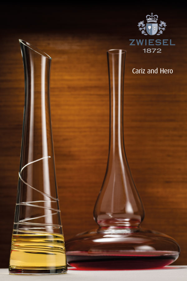 carouse hero Exclusive Zwiesel 1872 decanters supplied by houseware international dunboyne