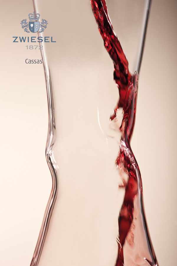 CASSAS Exclusive Zwiesel 1872 decanters supplied by houseware international dunboyne