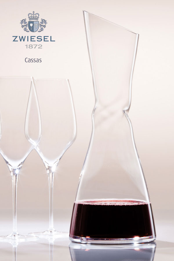 cassis Exclusive Zwiesel 1872 decanters supplied by houseware international dunboyne