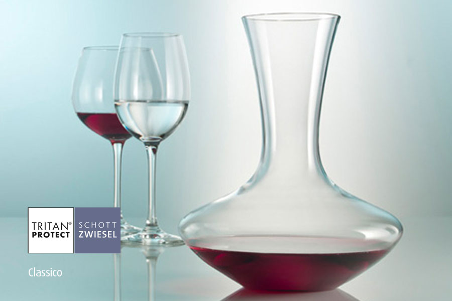 Classico wine decanters by Schott Wiesel and supplied by Houseware International Dunboyne, Houseware.ie
