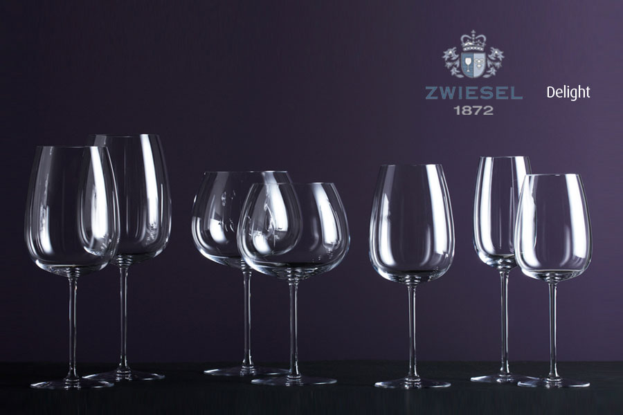 DELIGHT Zwiesel 1872 Glassware supplied by Houseware.ie