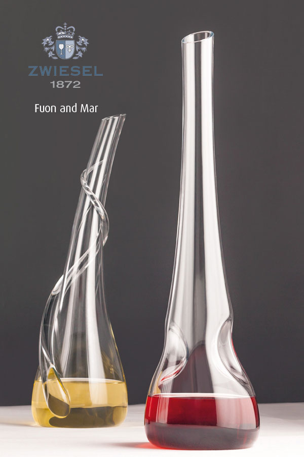 Fuon and Mar Exclusive Zwiesel 1872 decanters supplied by houseware international dunboyne