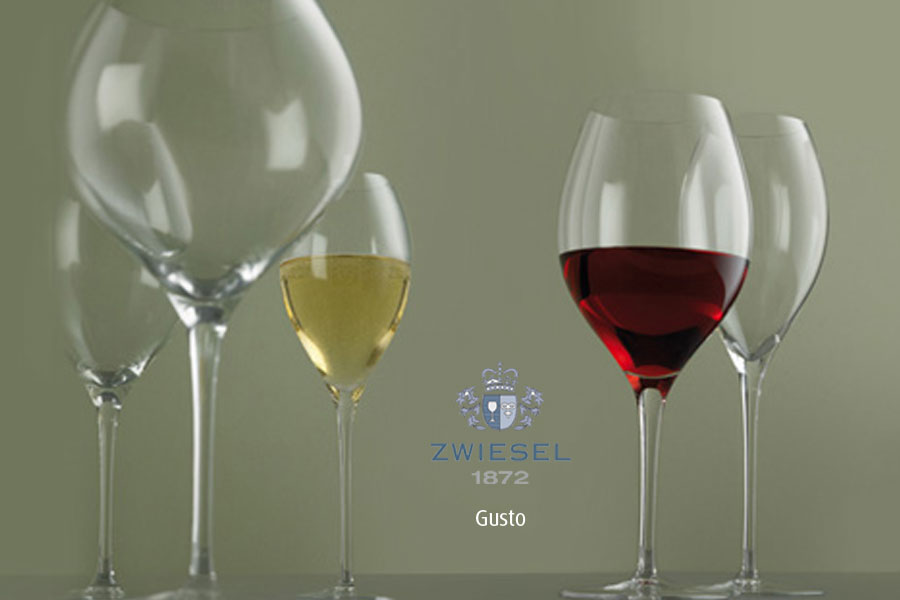 gusto Zwiesel 1872 Glassware supplied by Houseware.ie
