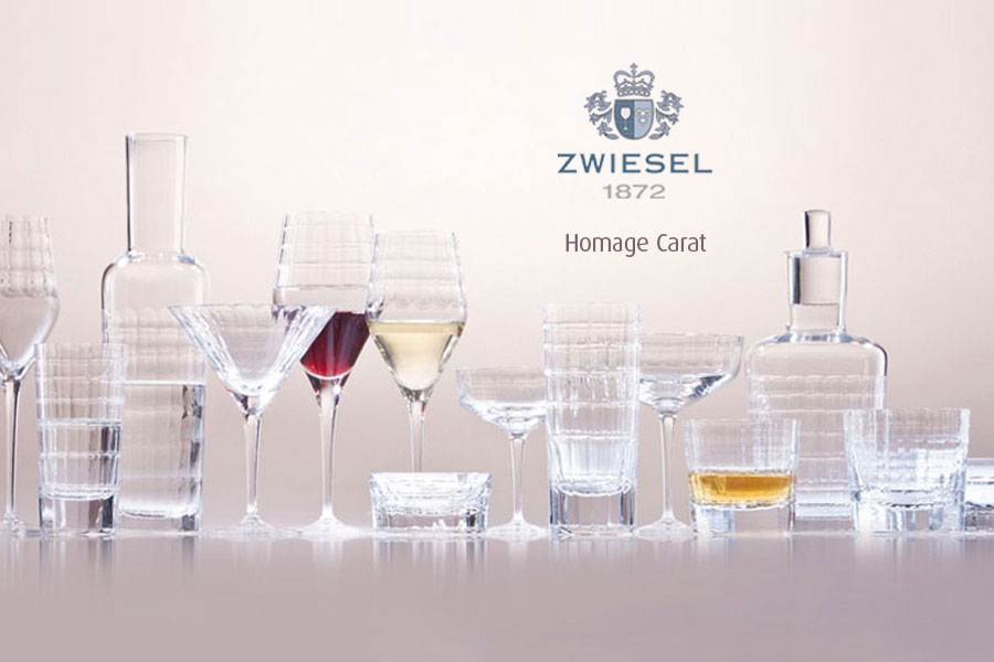 homage carat Zwiesel 1872 Glassware supplied by Houseware.ie