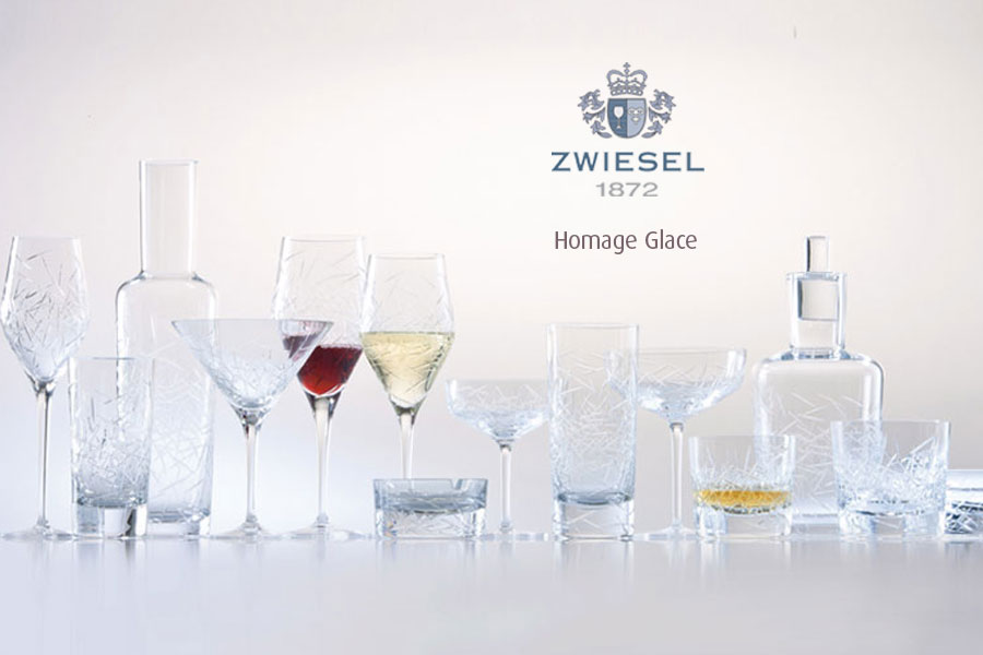 homage place Zwiesel 1872 Glassware supplied by Houseware.ie