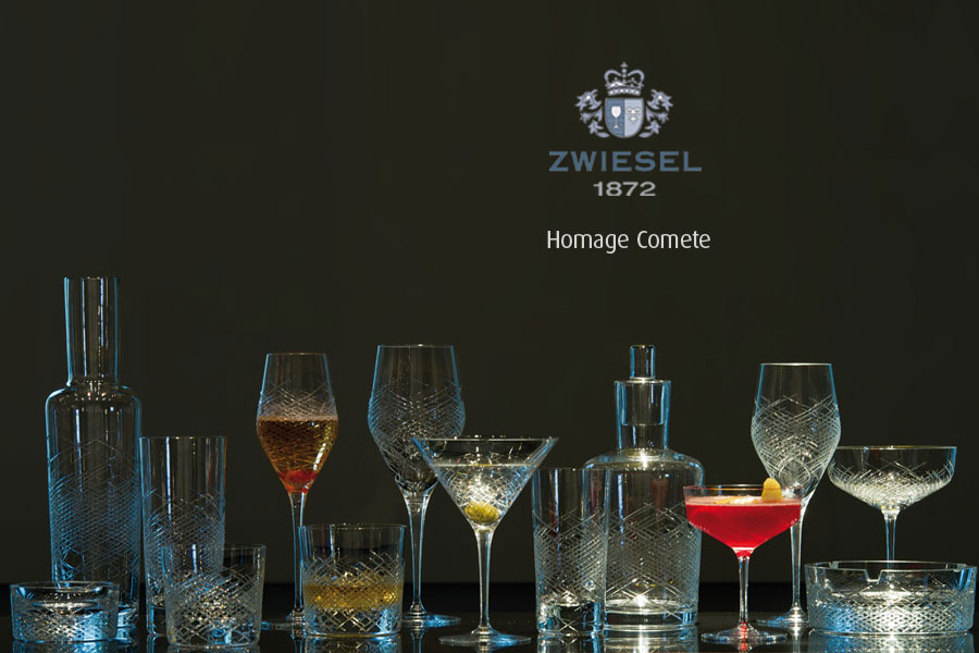 homage comete Zwiesel 1872 Glassware supplied by Houseware.ie