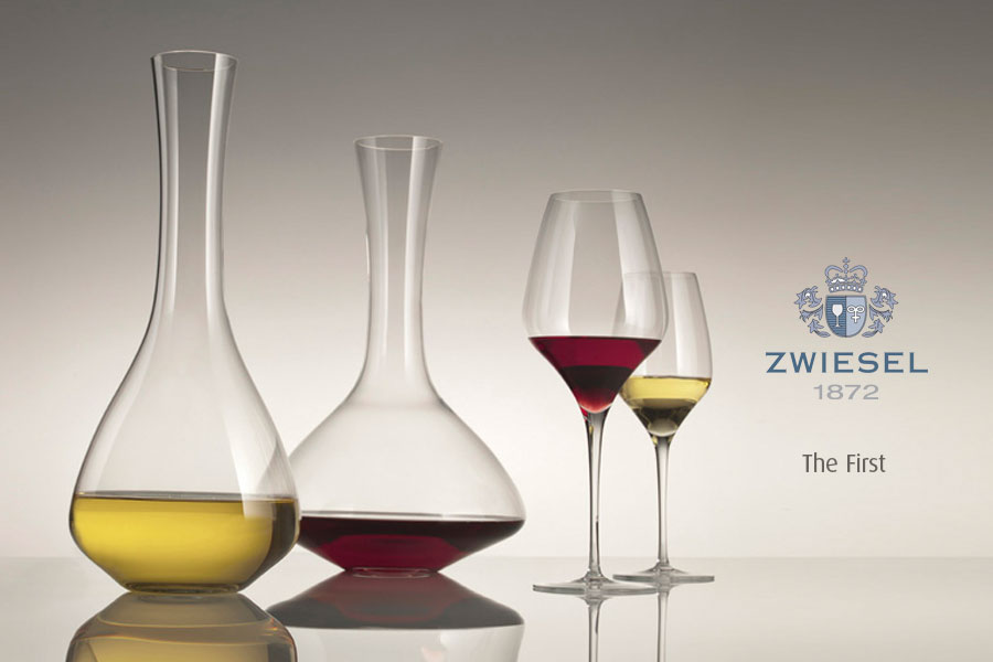 the first Exclusive Zwiesel 1872 decanters supplied by houseware international dunboyne