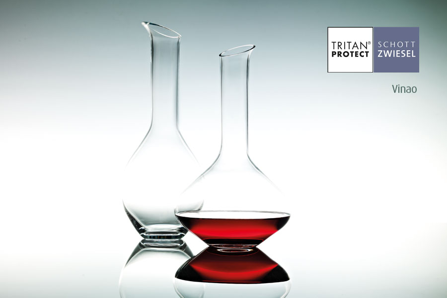 vine wine decanters by Schott Wiesel and supplied by Houseware International Dunboyne, Houseware.ie
