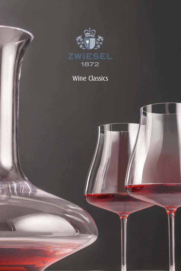 wine classics Exclusive Zwiesel 1872 decanters supplied by houseware international dunboyne