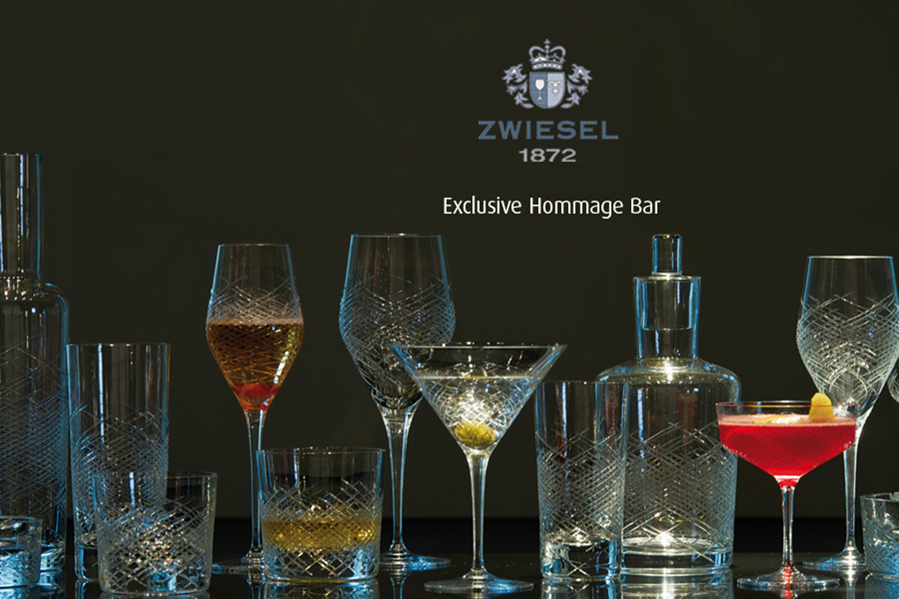 exclusive-hommage-bar by zwiesel, charles schumann collection
