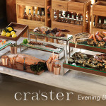 craster display and presentation at houseware.ie evening-buffet-flow-display