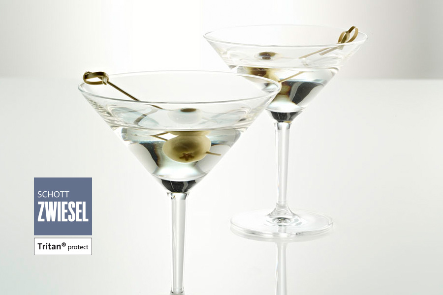 basic bar selection designed by charles schumann for schott zwiesel available from houseware.ie in ireland - martini glass
