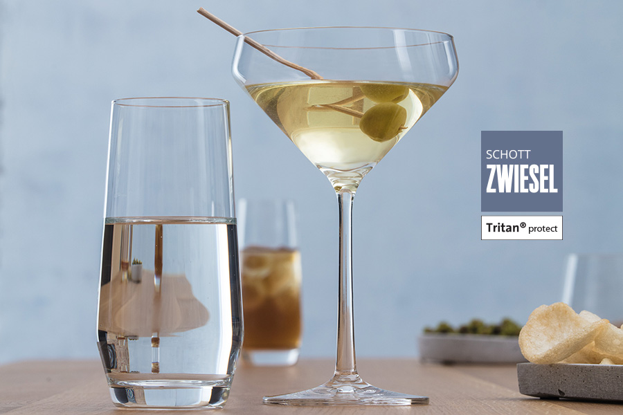 pure martini glass by schott zwiesel available in Ireland from houseware.ie