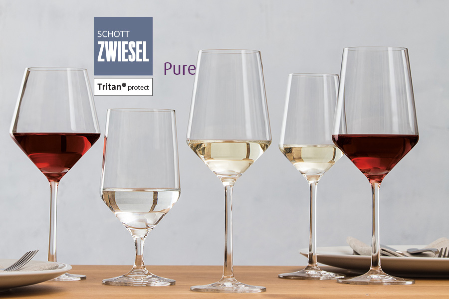 Pure professional glassware by schott zwiesel available in ireland at houseware.ie