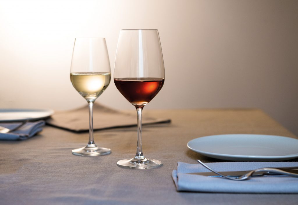 Vina Stemware by schott zwiesel available in Ireland from houseware.ie