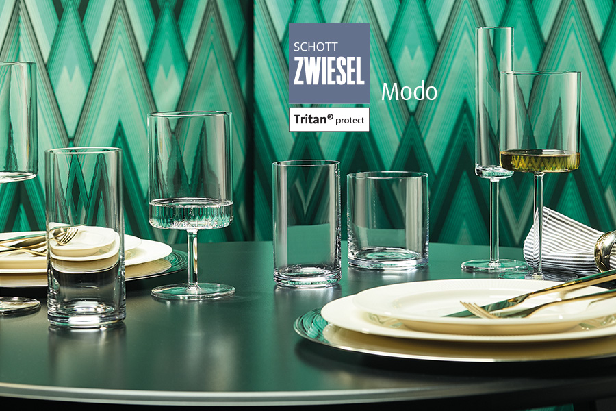 Modo professional stemware by schott zwiesel  available in Ireland at houseware.ie