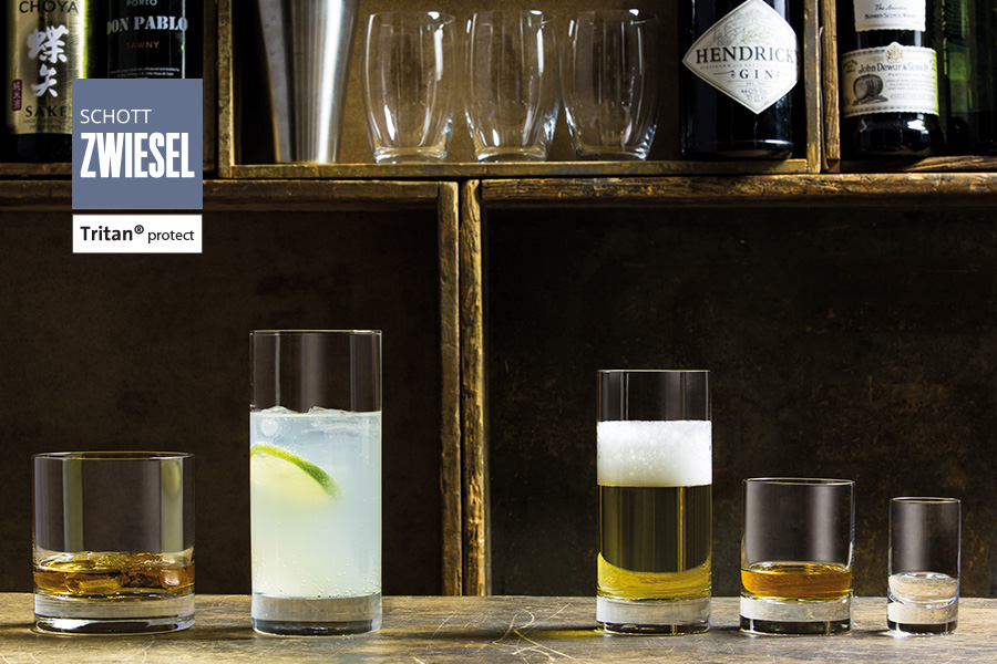 paris / iceberg tumblers - schott zwiesel professional bar glassware available from houseware.ie in dunboyne