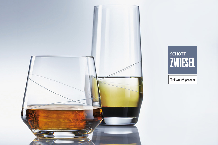 pure loop design glass by schott zwiesel available in Ireland from houseware.ie