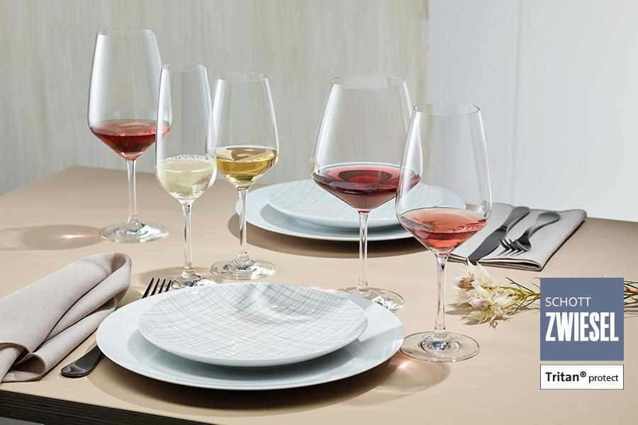 Taste glassware by schott zwiesel available in ireland from houseware.ie