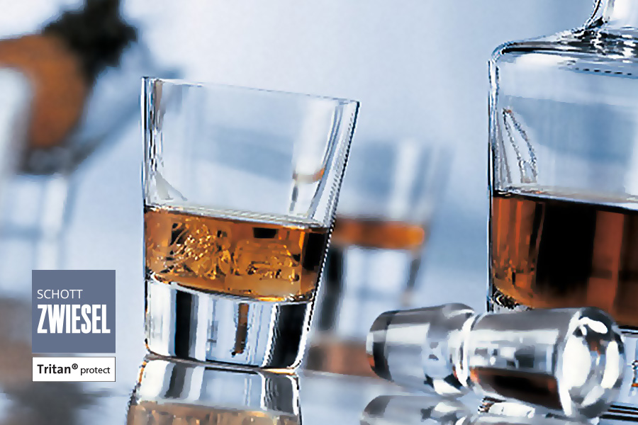 Tossa Tumblers with decanter, designed by schott zwiesel, available in ireland from Houseware.ie