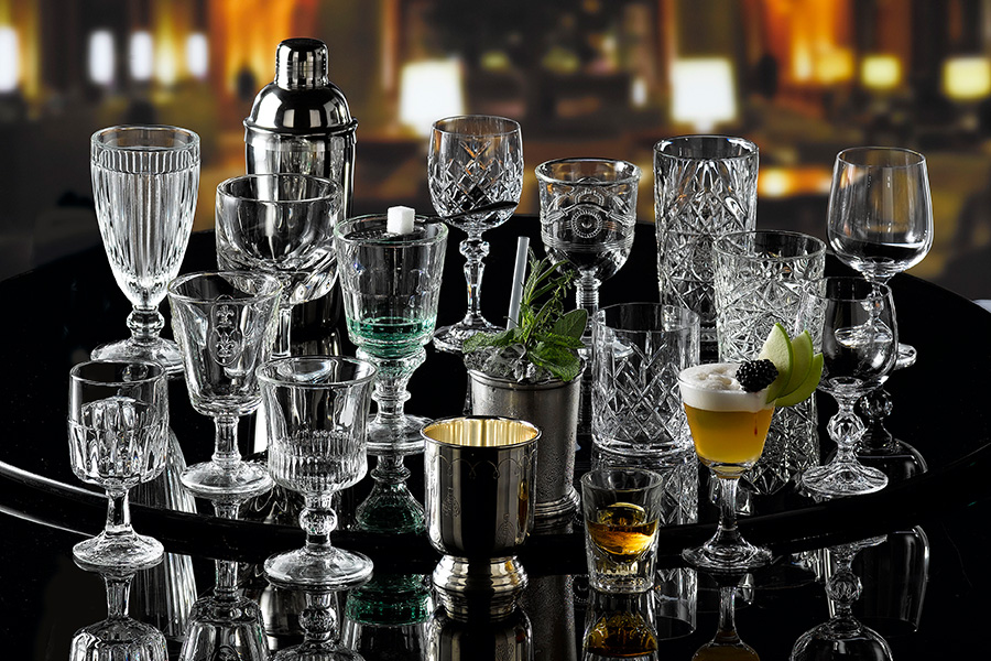 professional bar glassware in vintage style, by schott zwiesel and available from houseware.ie in Dunboyne Co. Meath