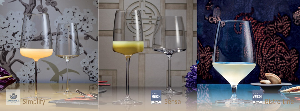 schott zwiesel glassware collections perfect for food pairing available in ireland from houseware.ie