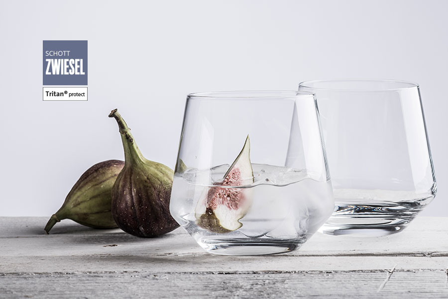 PURE Schott Zwiesel glassware collection available from houseware.ie in Dunboyne