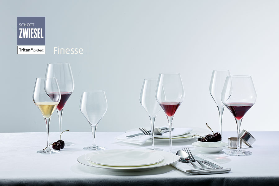 Finesse Schott Zwiesel glassware available from houseware.ie in co. Meath Ireland